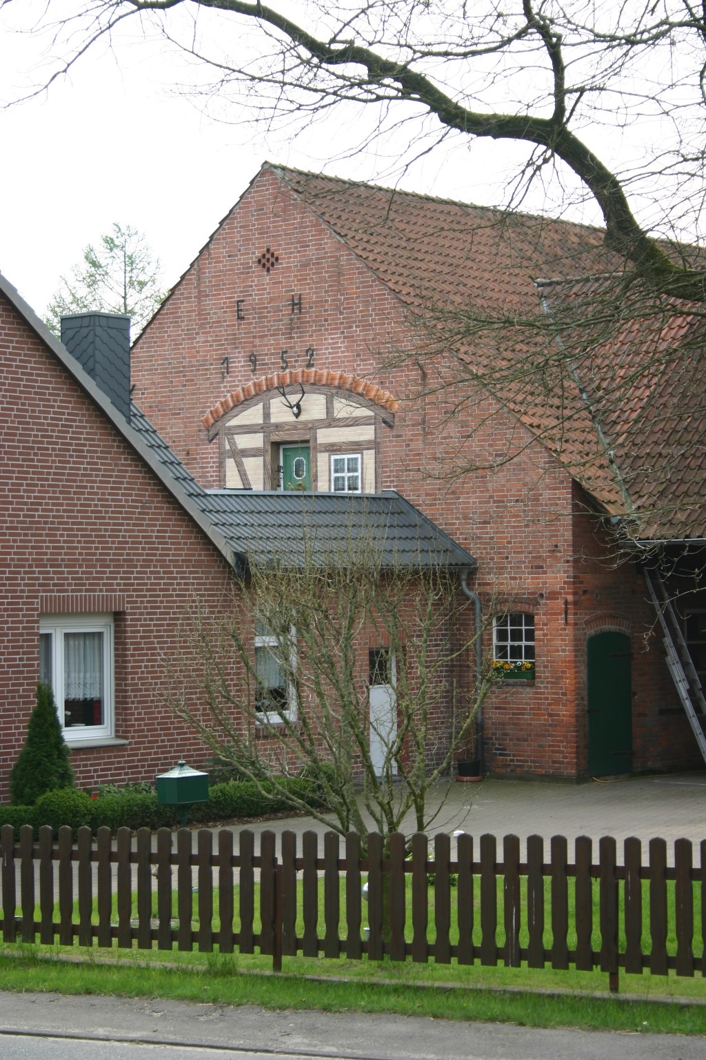 Fachwerkhaus/Terasse