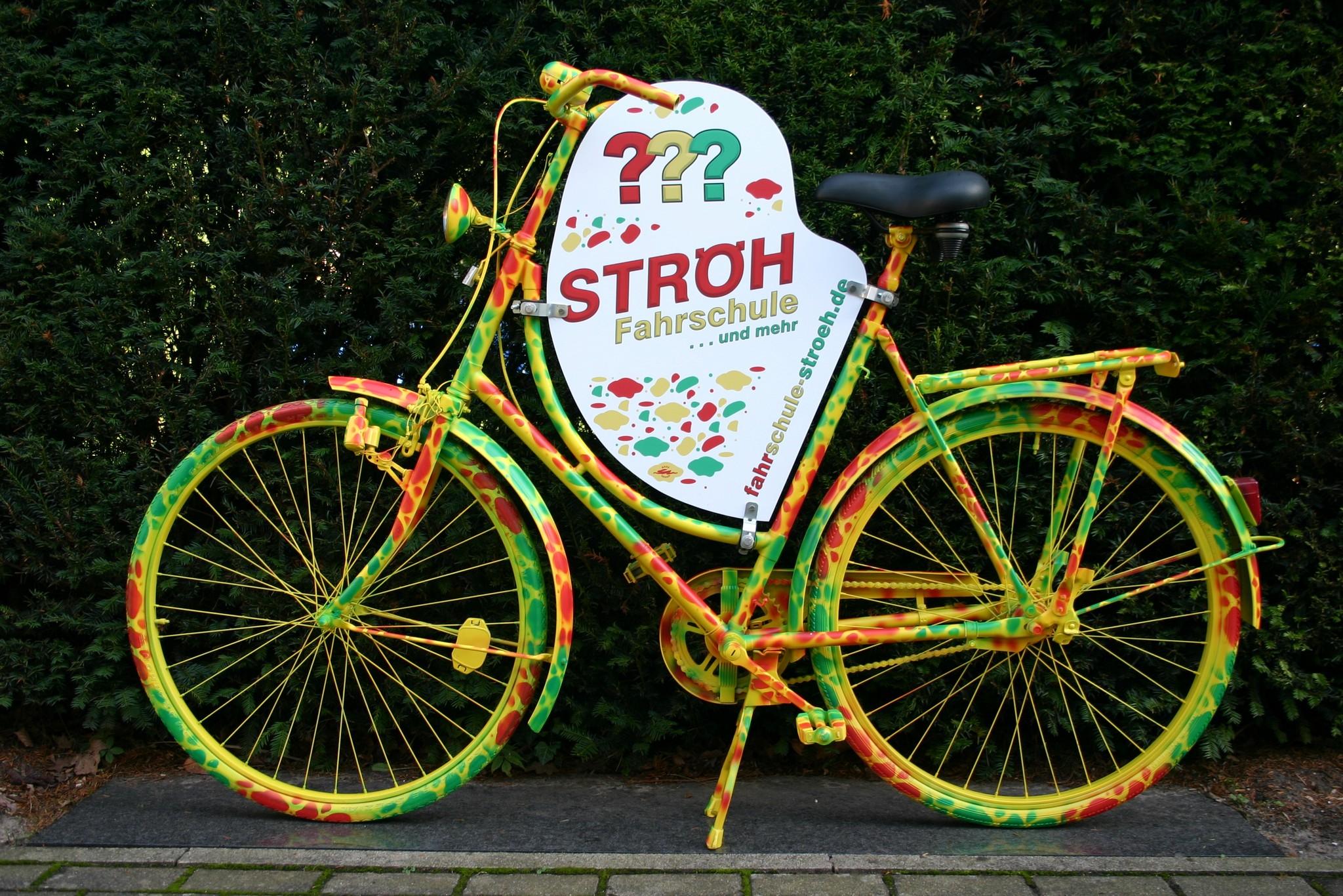 """Fahrrad: """" Ströh"""""""