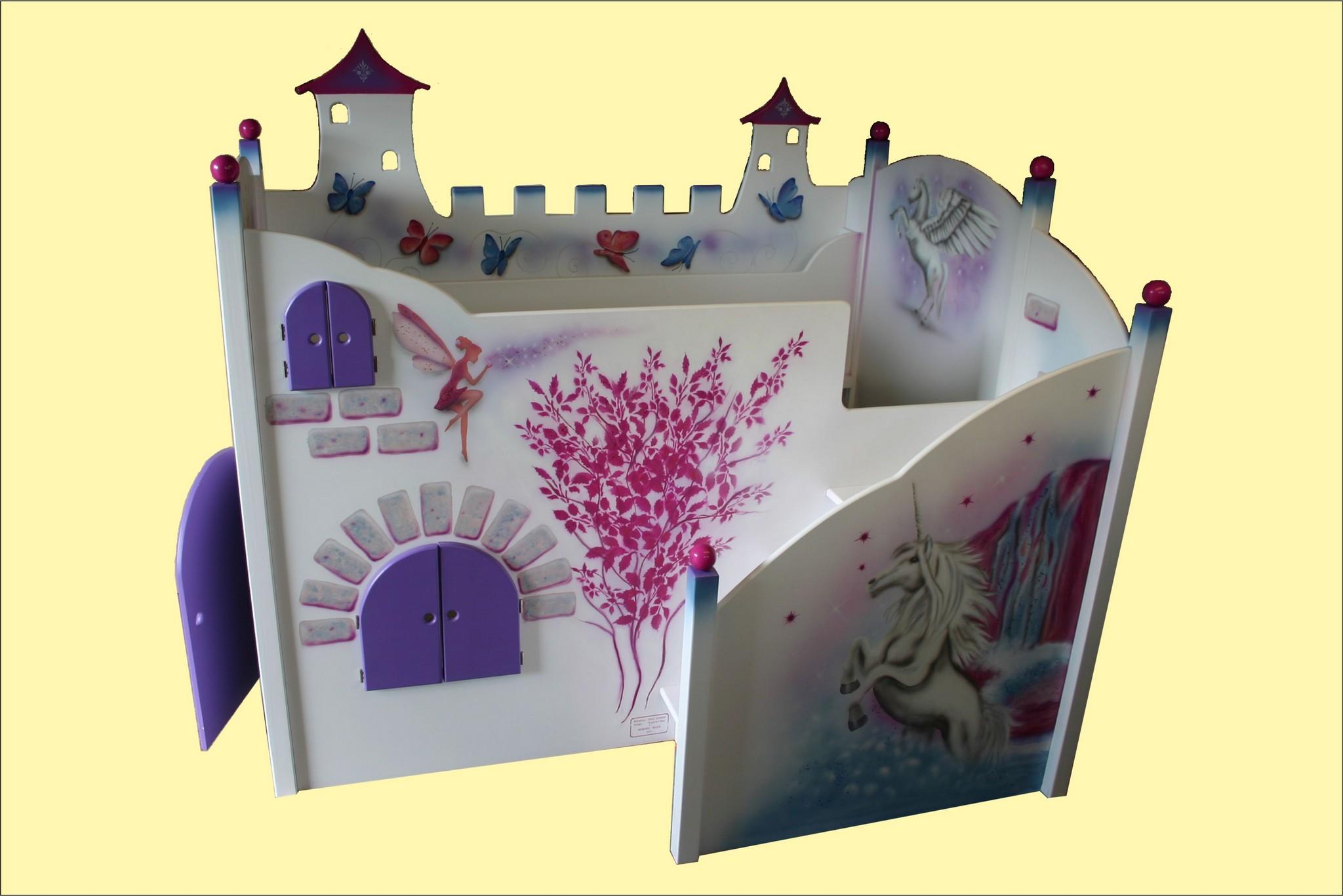 Kinderbett-Einhorn