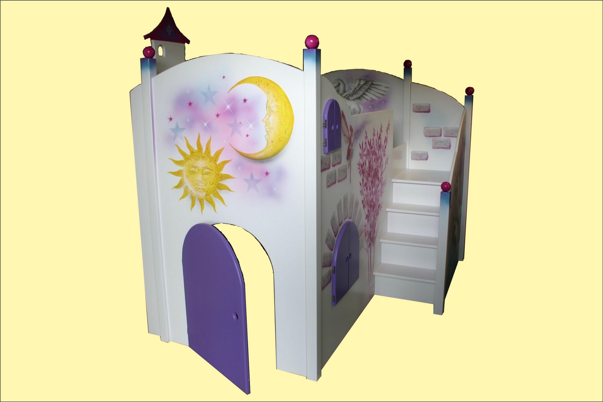 Kinderbett-Einhorn-2