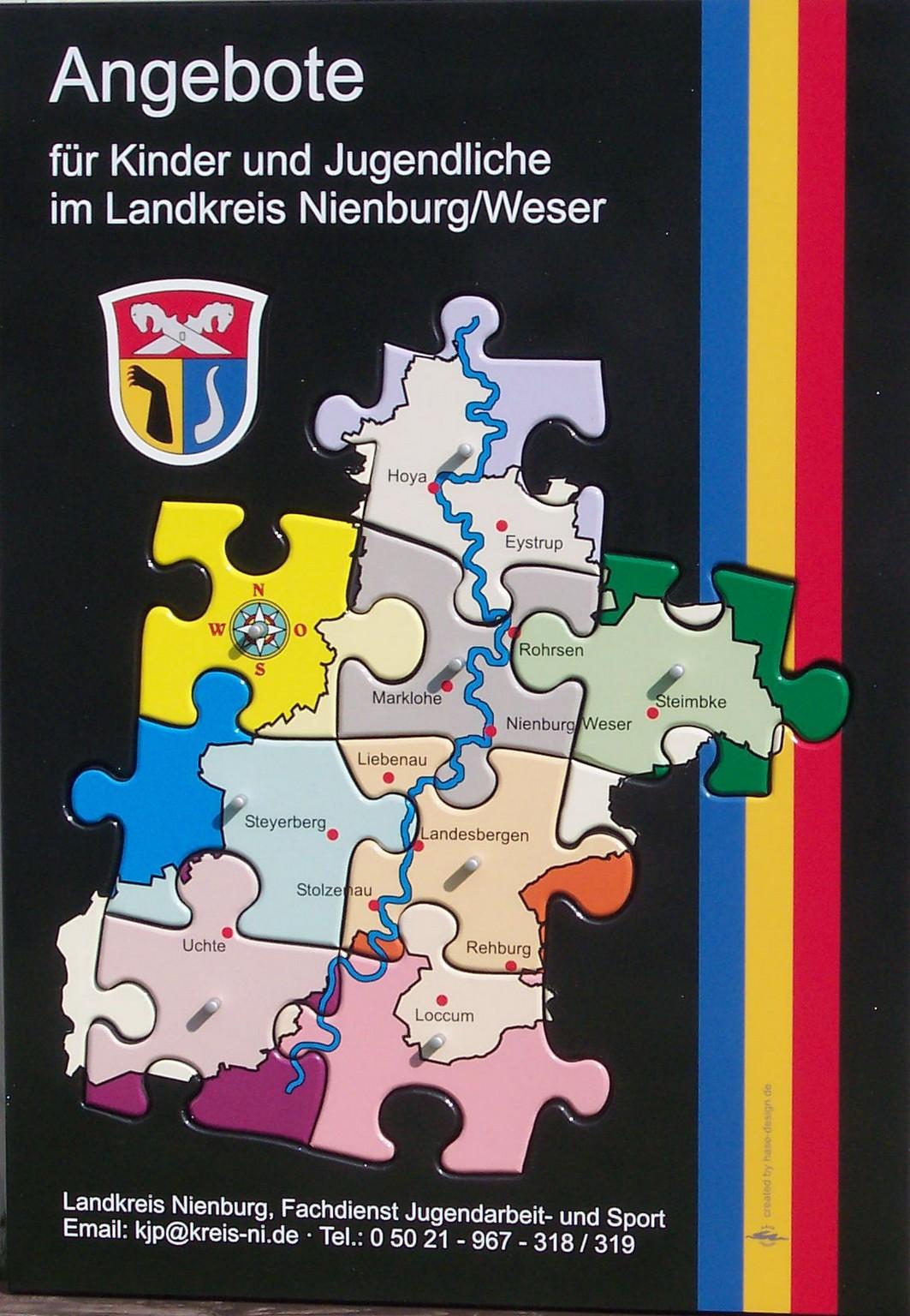 Landkreis-Puzzle