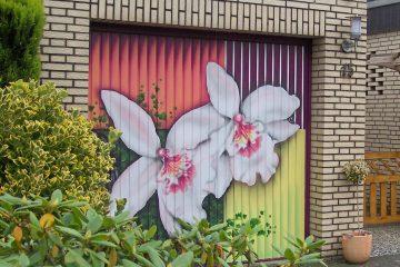 "Garagentor: ""Orchidee"""