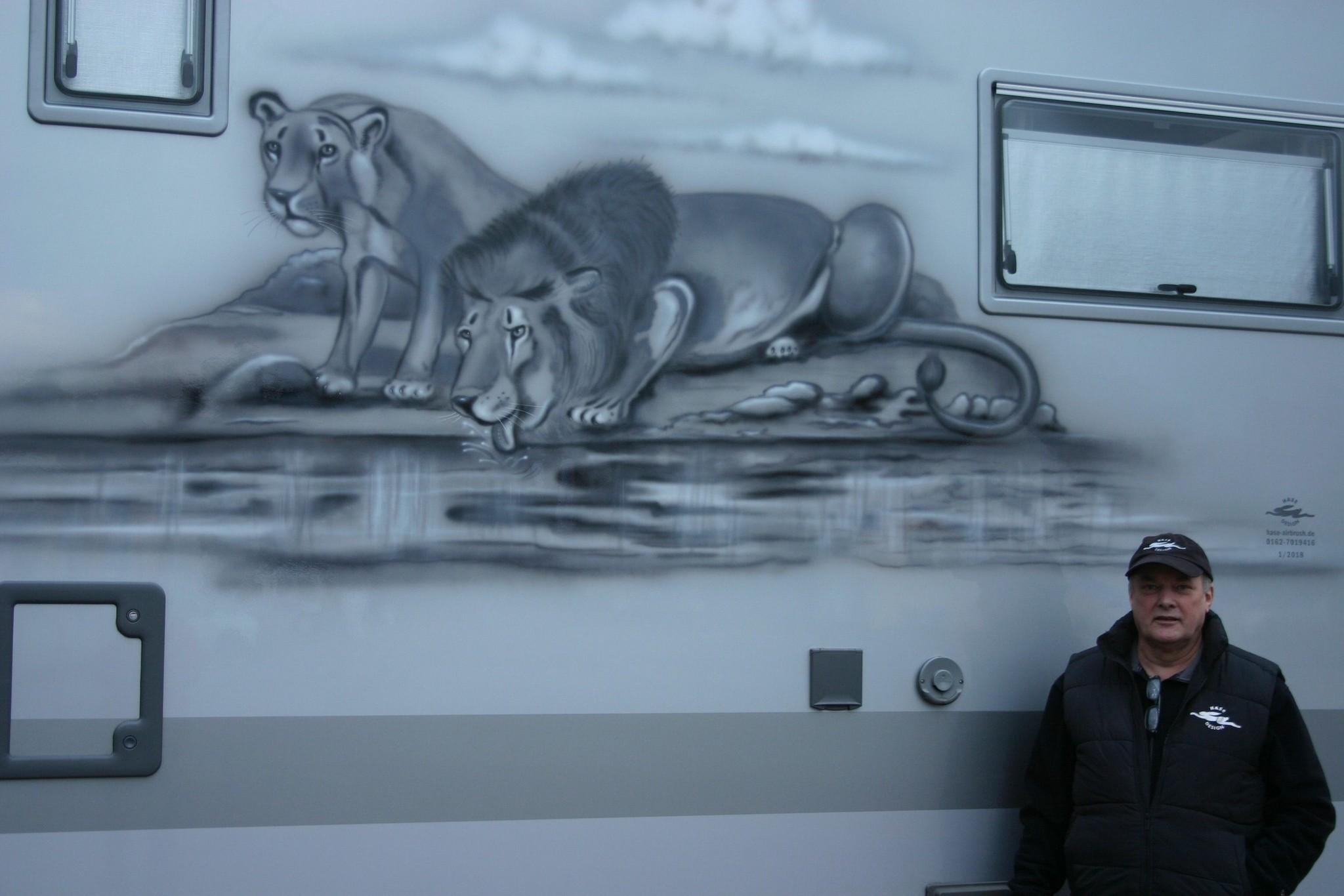 "Wohnmobil: ""Lion"""