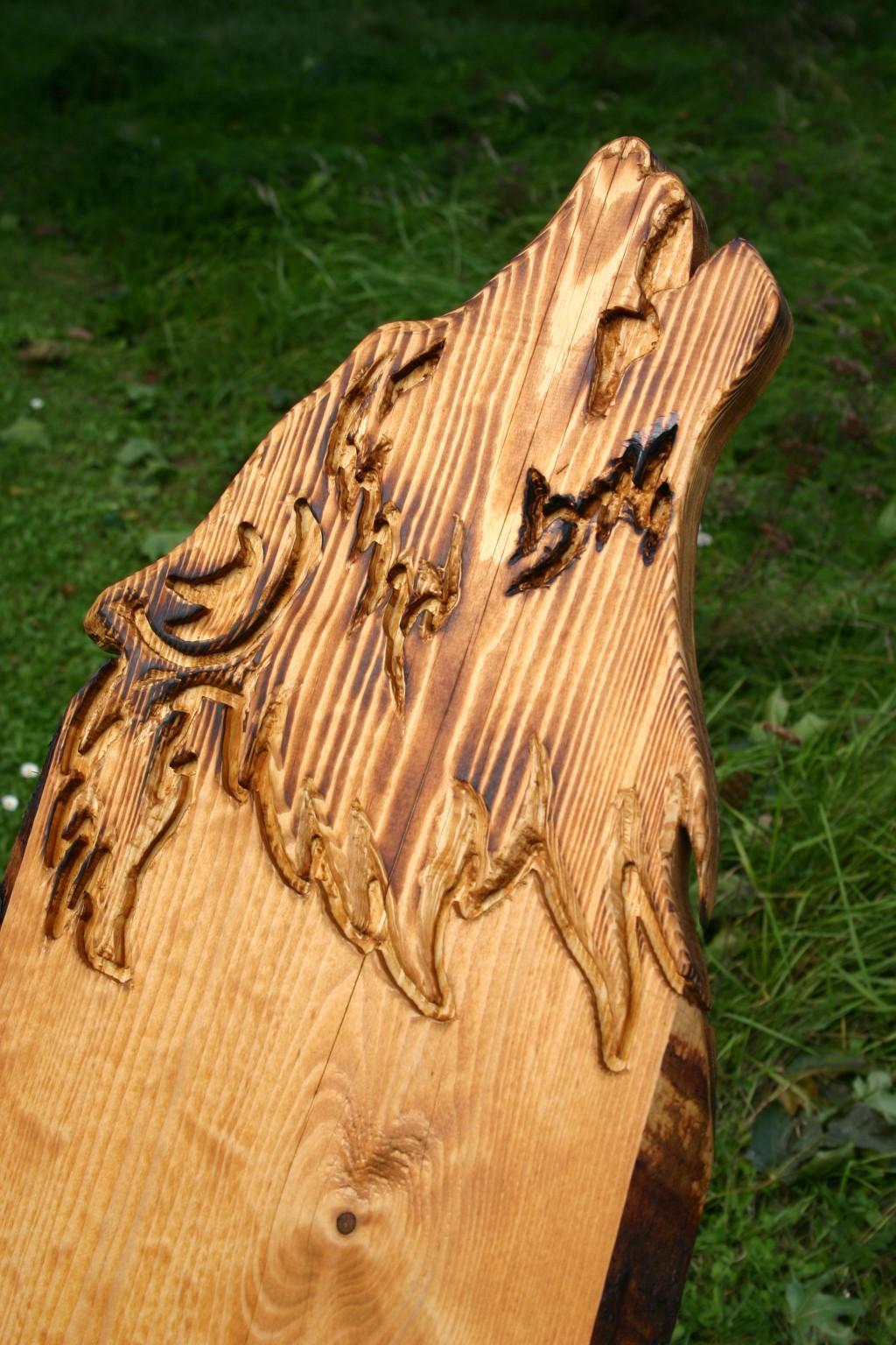 Holz: Wolfstuhl