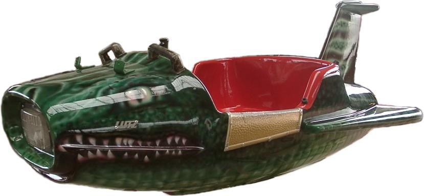 """Karusselwagen: """"Kroko"""""""